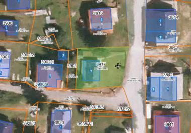Земельный участок в центре Жабляка под строительство дома на 6-8 квартир