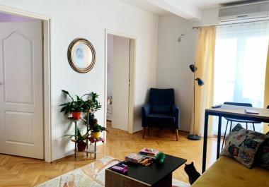 3-х комнатная квартира 49 м2 с 2-мя террасами в центре Будвы